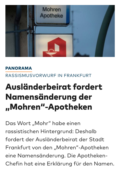 Presseschau - Seite 29 Mohren