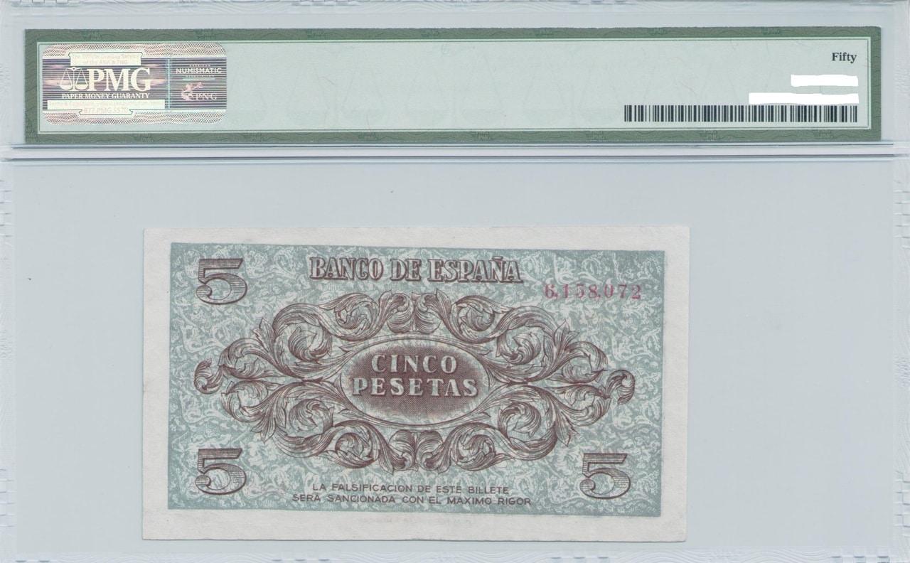 Colección de billetes españoles, sin serie o serie A de Sefcor - Página 3 Azul_del_36_reverso