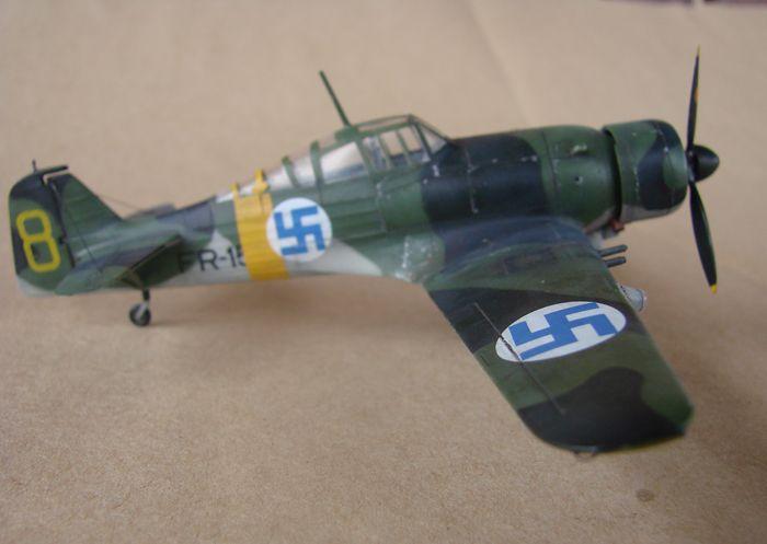 Finski Fokkeri D.XXI, Special Hobby, 1/72 DSC01489
