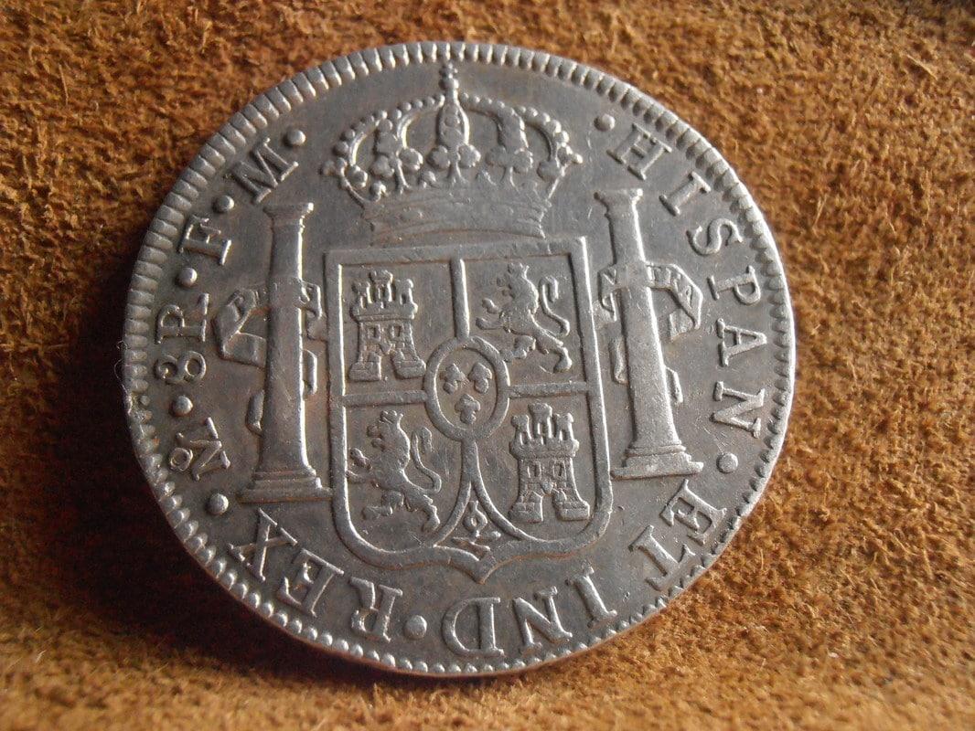 8 Reales 1789/8. Carlos III. Méjico FM P5210011