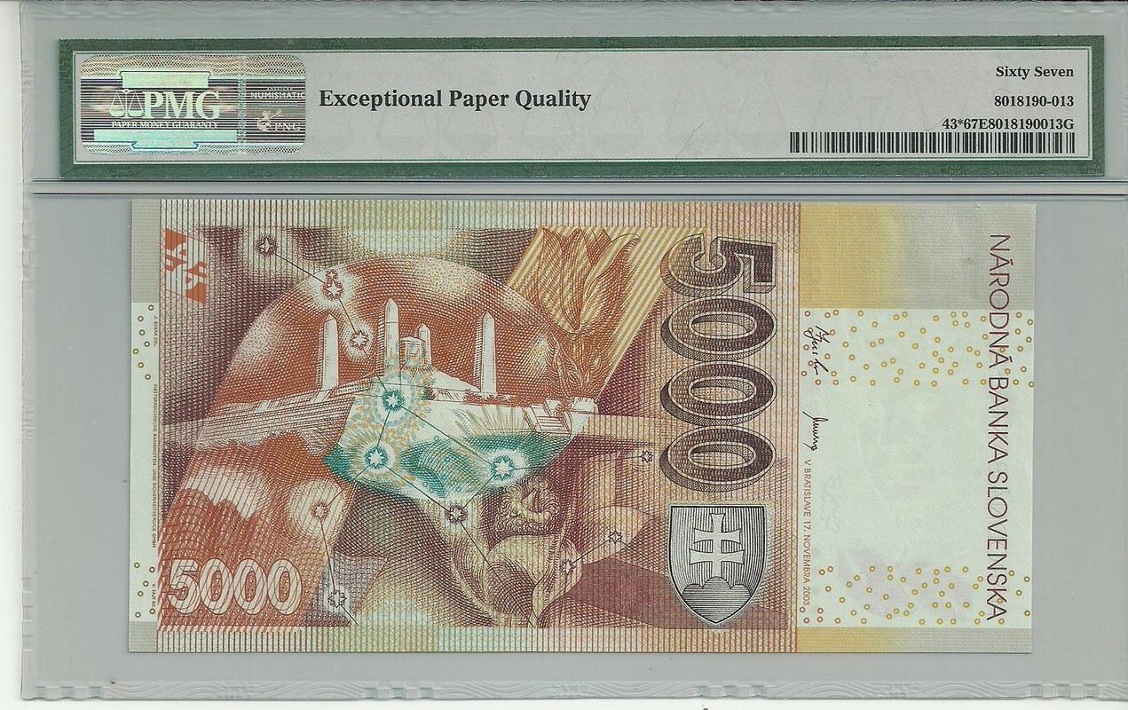 Billetes de reemplazo, no españoles - Página 2 Eslovaquia2