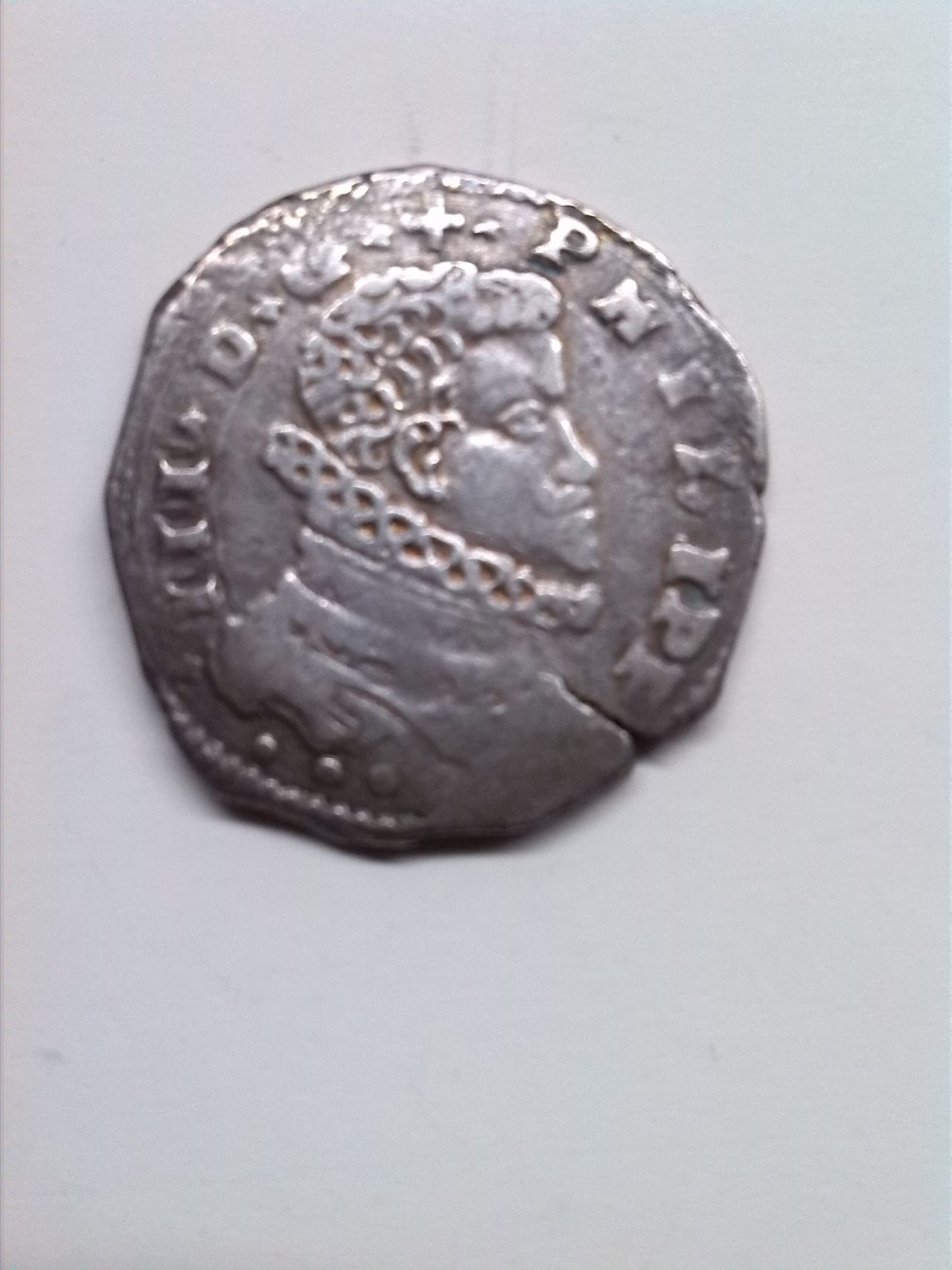 4 taris de Felipe III de Sicilia año 1616 17_4_tari_1616
