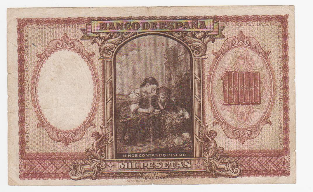 1000 Pesetas 1940 (Murillo) 1000_pesetas_1940_murilllo_001