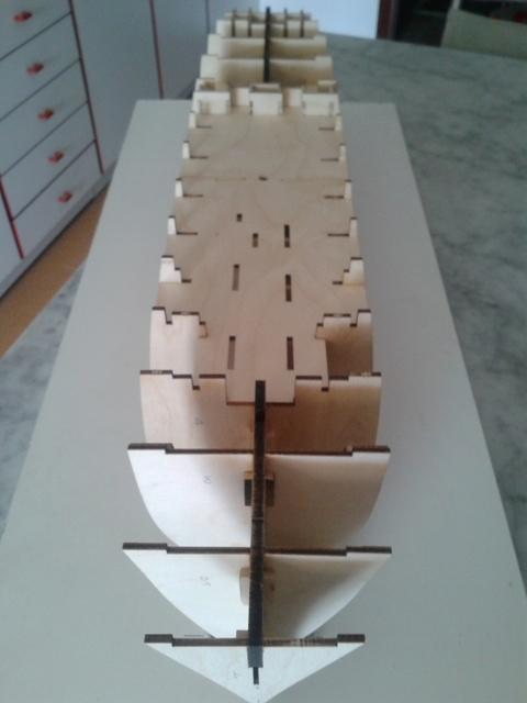 vespucci - Amerigo Vespucci scala 1:100 Hachette - Pennabianca- 20140518_160504