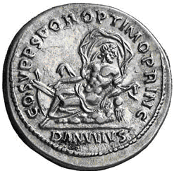 Glosario de monedas romanas. DANUBIO. Image
