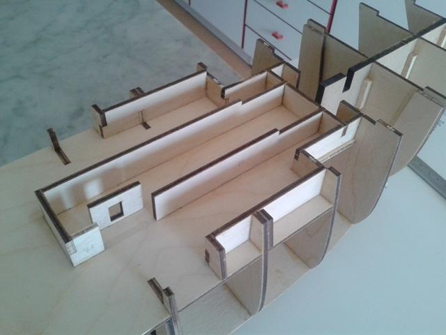 vespucci - Amerigo Vespucci scala 1:100 Hachette - Pennabianca- 20140604_161857