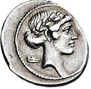 Glosario de monedas romanas. COTURNO -COTHUMUS. Image