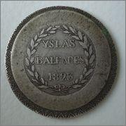 5 Pesetas 1823 Fernando VII - Islas Baleares  Image