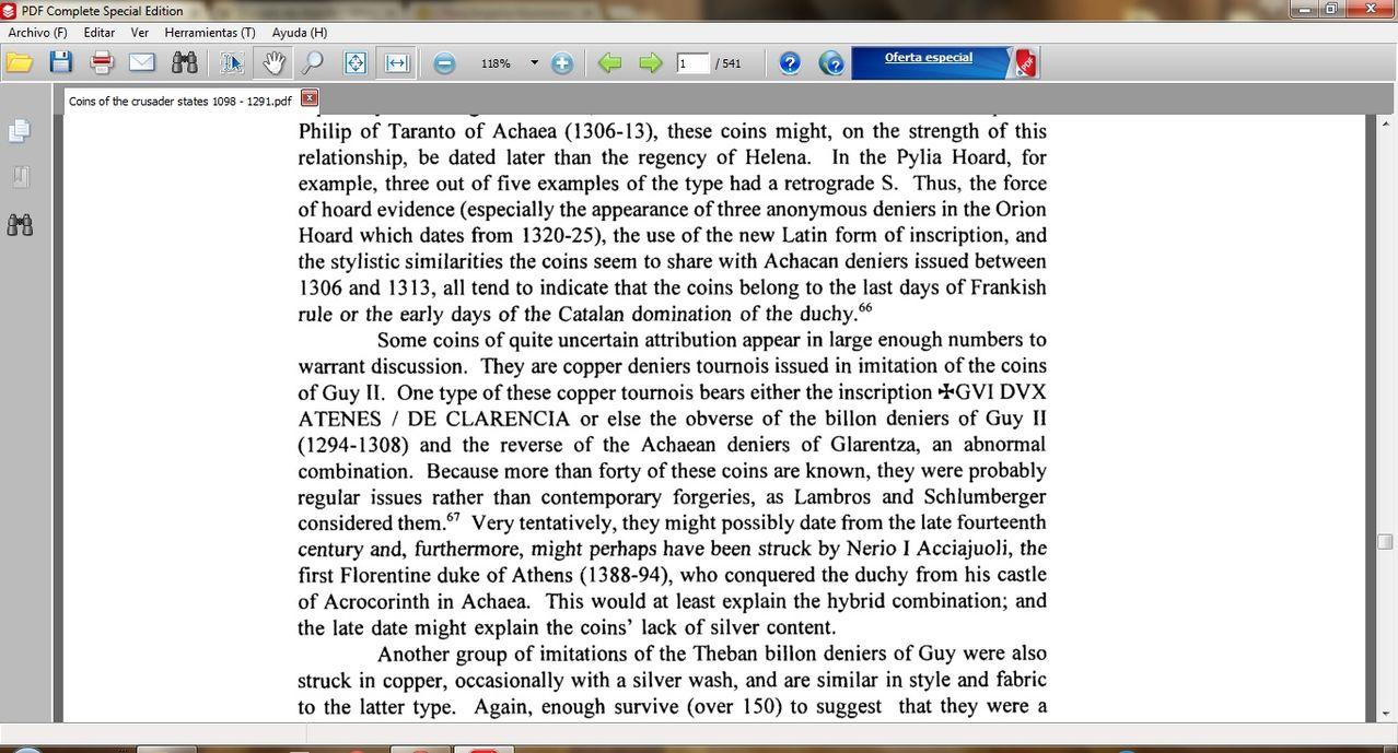 Dinero de los almogávares (1311-1388) o los duques florentinos (1388-1394) del ducado de Atenas  - Página 2 Athens