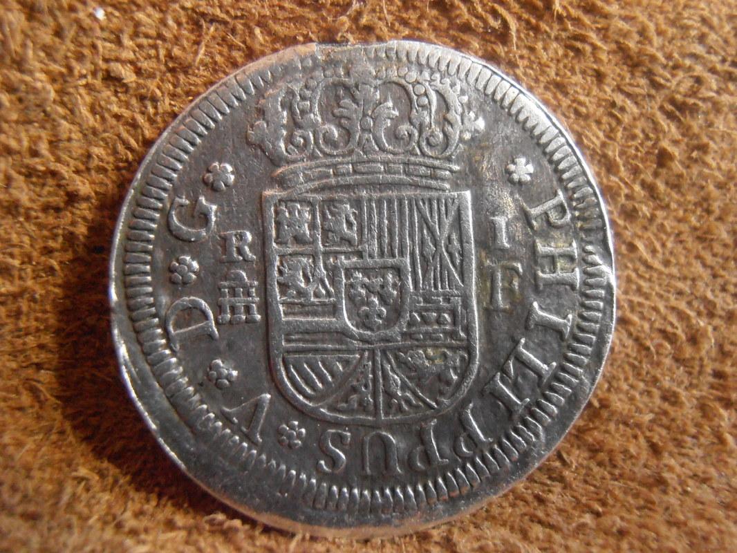 1 Real Felipe V , ceca de Segovia-1726. P3080002