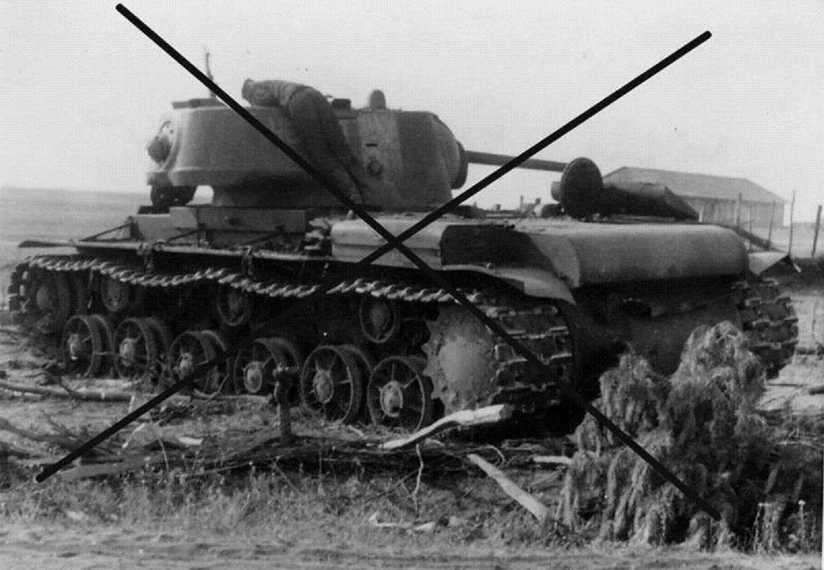 КВ-9, КВ-1 с башней 1942 года Image