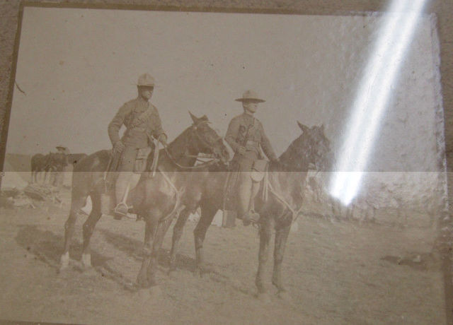 Boer War Canadian Stetson-Named 20_4