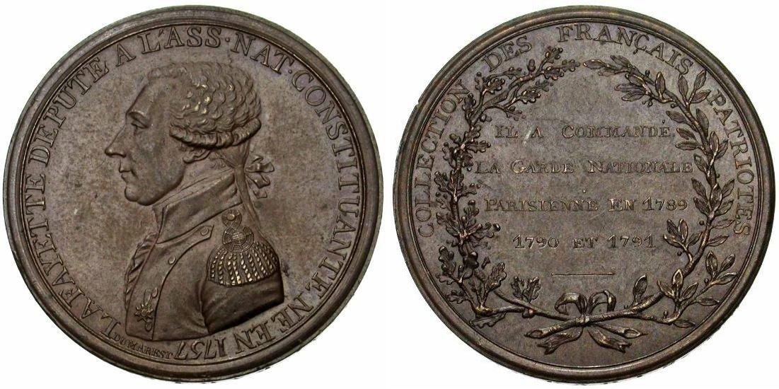 5 Sols Monneron Freres 1793 Francia Monneronlafayette
