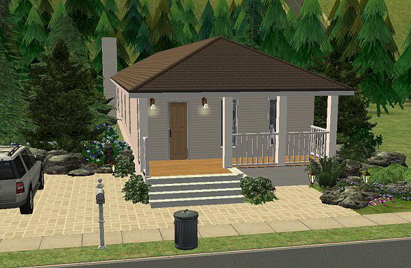 Stavba podle půdorysu Houseplan Forest_Retreat_1