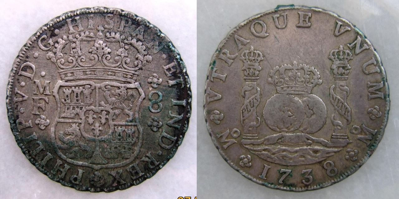 8 reales 1738. Felipe V. Méjico. 8_reales_M_xico_Felipe_V_1738