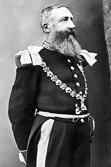 5 francos belgas 1873 Leopoldo II 220px_Leopold_ii_garter_knight