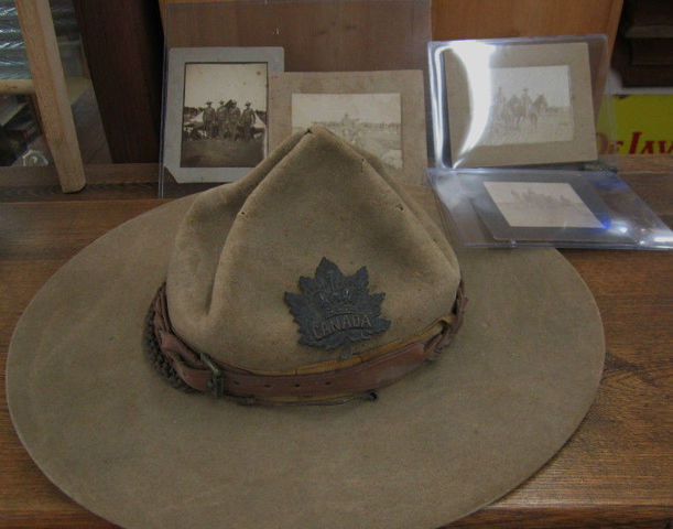 Boer War Canadian Stetson-Named Image