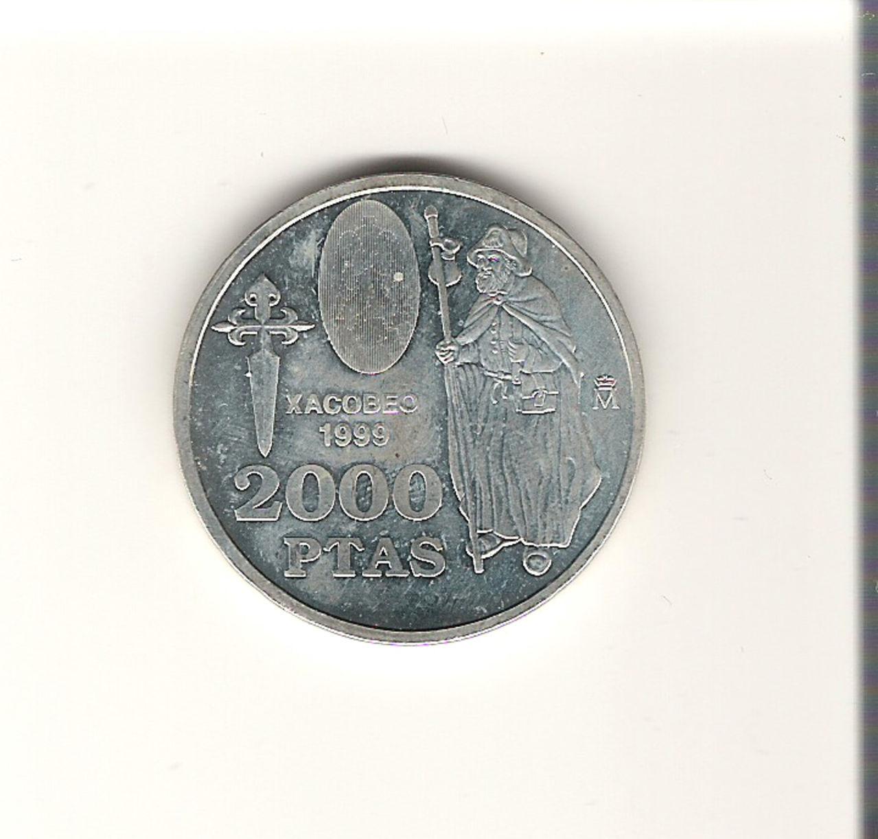 2000 Pesetas 1999. Juan Carlos I.   2000_PESETAS_11