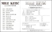 Mile Kitic - Diskografija Mile_Kitic_1995_Kas_Zadnja