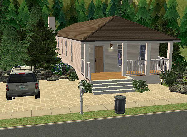 Stavba podle půdorysu Houseplan Forest_Retreat_2