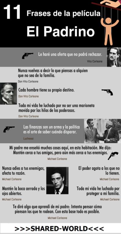 """11 citas célebres de la película """"El Padrino"""" #infografia 11_citas_c_lebres_de_la_pel_cula_El_Padrino_i"""