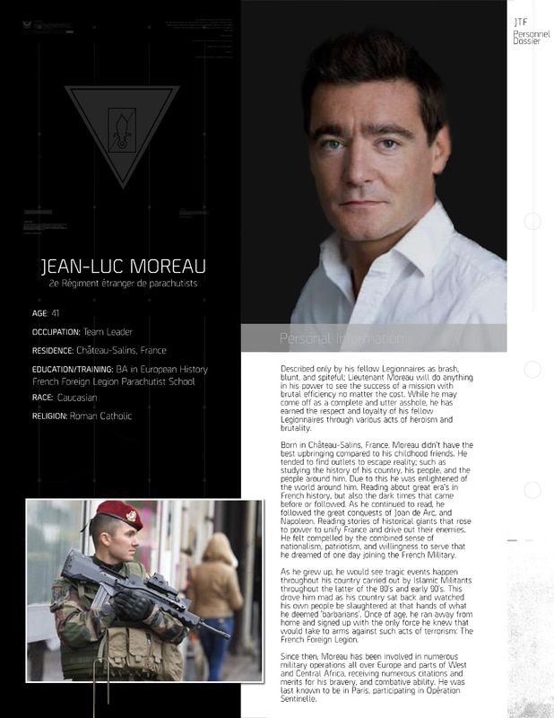 Jean-Luc Moreau -- The Hardass Lieutenant Frenchcom