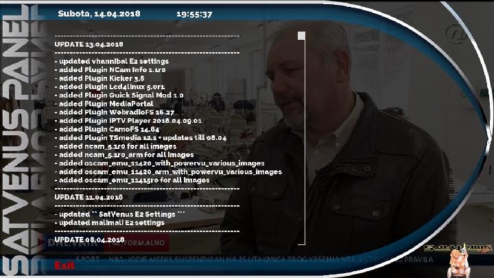 Backup Vu+Solo2 Panel