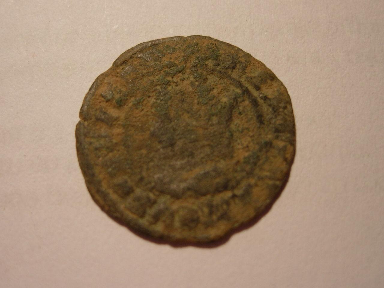 Dinero de Fernando II (1479-1516) de Valencia Baj_258