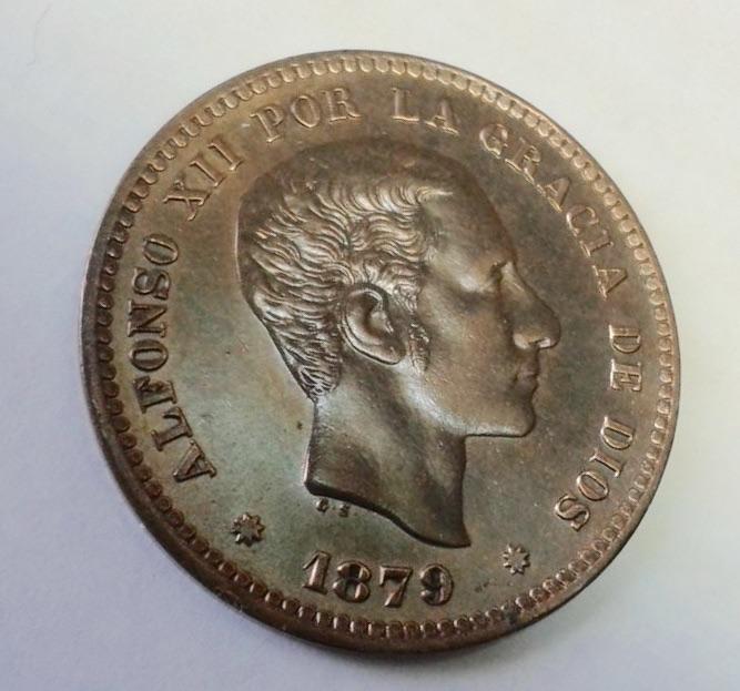 5 céntimos 1879 Image
