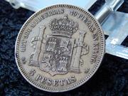 5 pesetas 1875 D.E.  M.   18* 75* DSCN2376