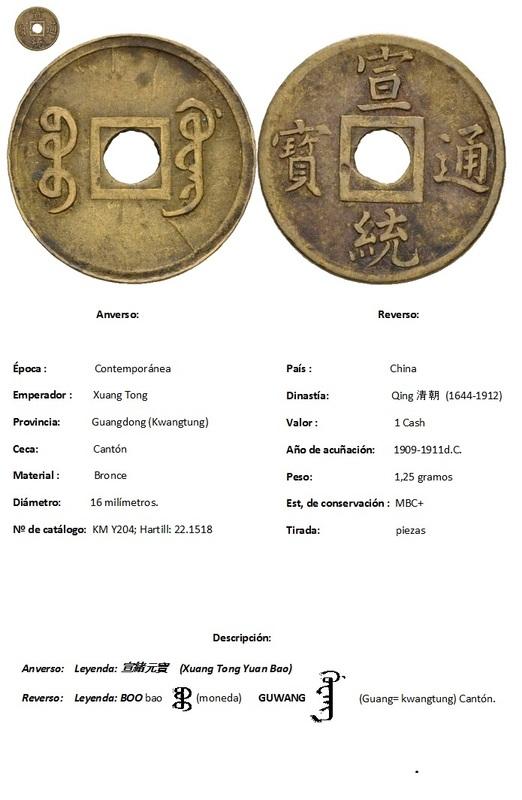 CHINA - 50 Cash (Dedicada a Cerbero) T_tulo