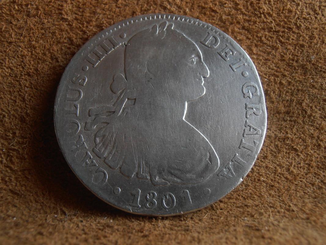 8 Reales 1801. Carlos IIII. Méjico. FT P6240001