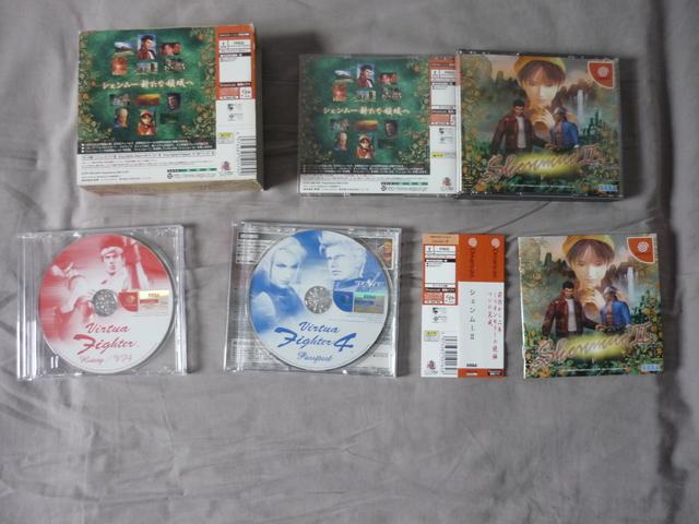 [VDS/TROC] Saturn et Dreamcast Jap jeux P1040184