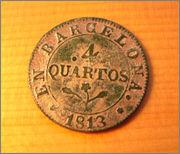 4 Quartos 1813 - BARCELONA Image