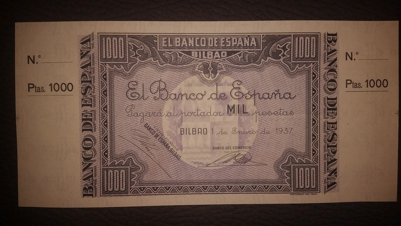 Colección de billetes españoles, sin serie o serie A de Sefcor pendientes de graduar - Página 2 20170217_202843