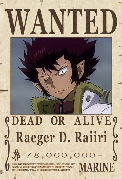 Chasing the Rascal [Arc - Part 1] Wantedposter