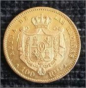 100 REALES 1863 ISABEL II MADRID , DEDICADA A PERROPAXON 2015_03_29_10_29_46