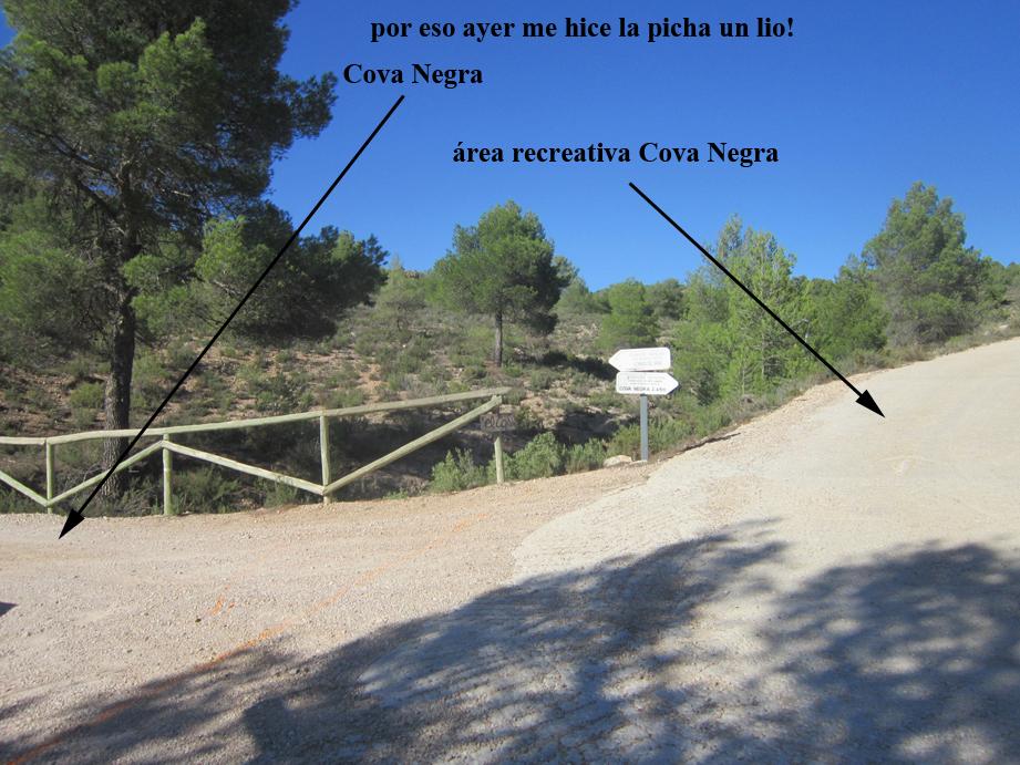 EL RECONCO,Biar + COVA NEGRA (ruta motosenderista) Biar100