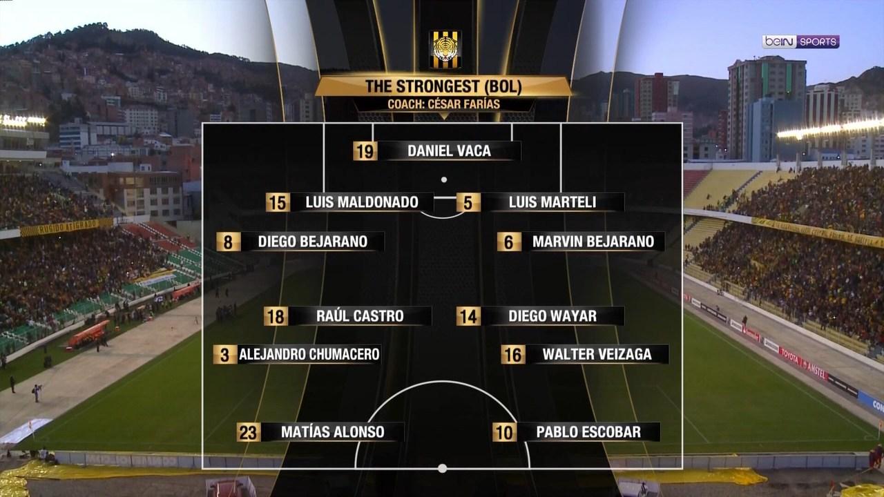 Copa Libertadores 2017 - Octavos de Final - Ida - The Strongest Vs. Lanús (1080i) (Castellano) Image