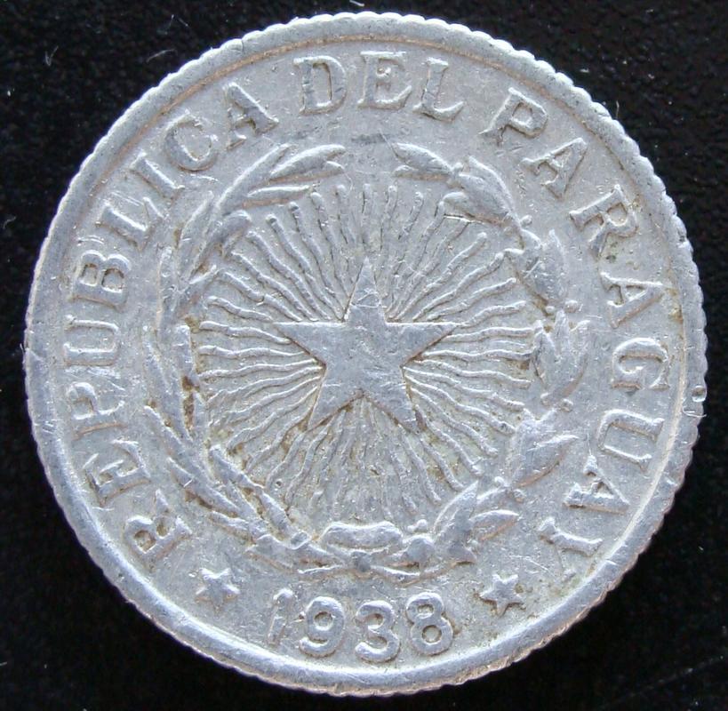 2 Pesos. Paraguay (1938) PAR._2_Pesos_1938_-_anv