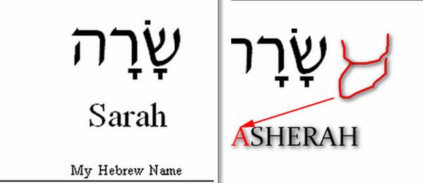 HAGAR vs SARAH LADY_ASHEARH