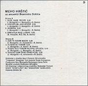 Mehmed Meho Hrstic - Diskografija 1985_z