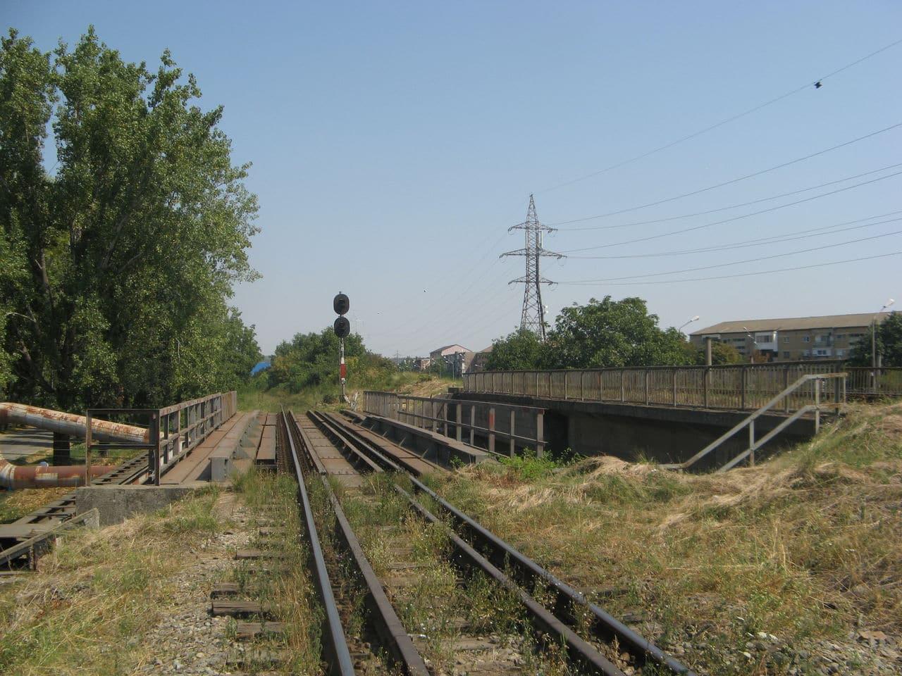 Calea ferată directă Oradea Vest - Episcopia Bihor IMG_0020