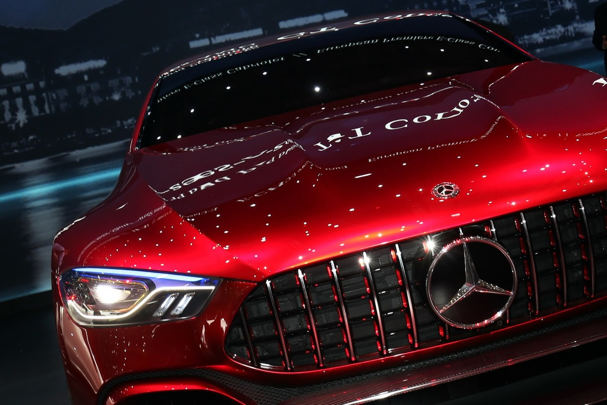 1 imagem vale mais que 1000 palavras - AMG GT Concept Mercedes_AMG_GT4_1