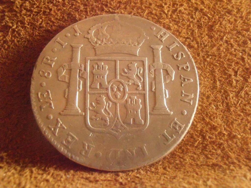 8 Reales 1796 Carlos IV. Lima P9050012