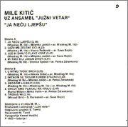 Mile Kitic - Diskografija 1985_ka_z