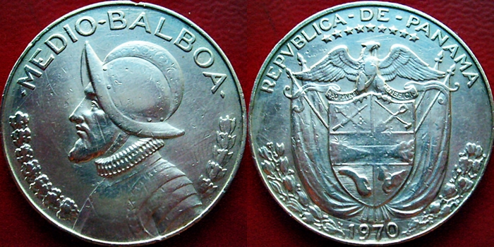 medio balboa plata  BALBOA