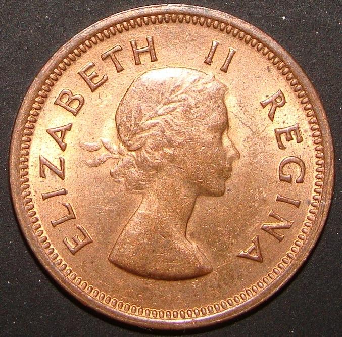 1/4 Penique. Sudáfrica (1955) SAF_0_25_Peniques_1955_anv