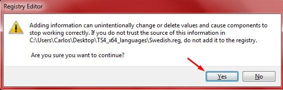 Changing the in-game display language. [OBSOLETE] Screenshot_1