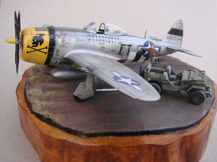 P-47D-30RE Thunderbolt, Revell, 1/72 DSC03165